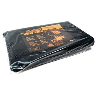 Hitzeschutzdecke 1300° 2 x 1,8m schwarz Kohlenfaservlies
