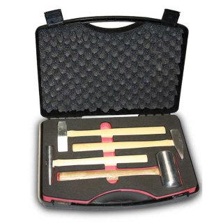 Aluminium Hammer kit 4 pc.