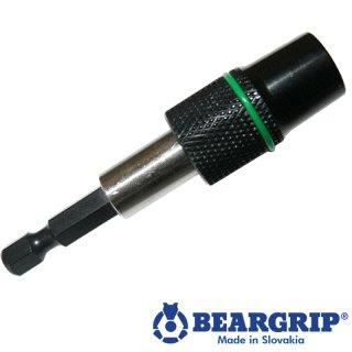 """Bithalter 1/4 """"x 65 mm mit Schraubenhalter, zwei Magneten"""