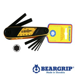 6685 - Innensechskant-Schlüsselset (2,5-10 mm), Serie 2282,