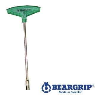 T-Griff mit Sockel 8mm x 230mm Serie 760, Beargrip
