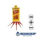 Schraubendreher  Isoliert, VDE, Serie 726, Rot