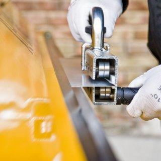 Handfalzer, Biegemaschine, Biegegerät, Falzschließer