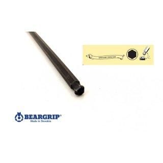 """Beargrip Innensechskant-Schlüssel """"T"""" Griff  Serie 2341 XXL  Größe 3 x 350 mm extra lang mit Kugelkopf"""