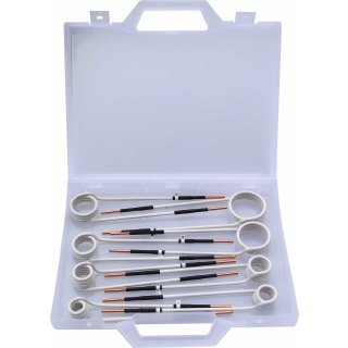 Induktions Spulen Set seitlich 15 - 45mm 8 tlg