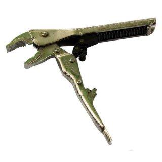 Gripzange selbstspannend gebogene Backen 175 mm