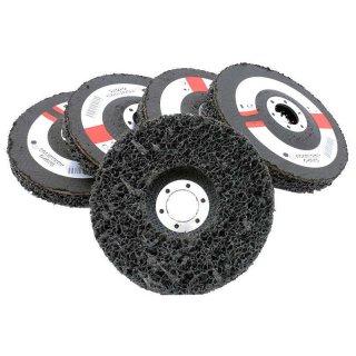 CSD Reinigungsscheibe schwarz 127mm 5 Stk., grob, für Flex 22mm